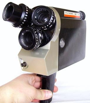 Кинокамера киев 16 у значок со сталиным